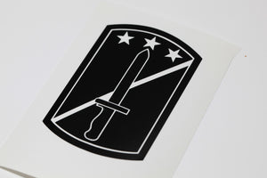 170th Infantry Bde vinyl decal