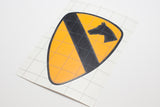 1st Cavalry vinyl decal