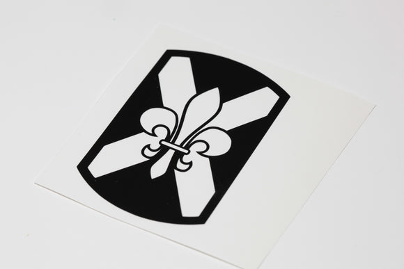 256th Infantry vinyl decal