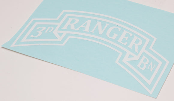 3rd Ranger vinyl decal