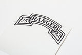 75th Ranger vinyl decal