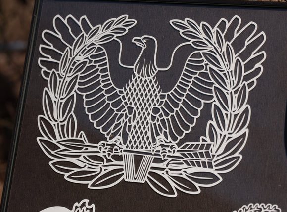 Warrant Officer Vinyl Decal