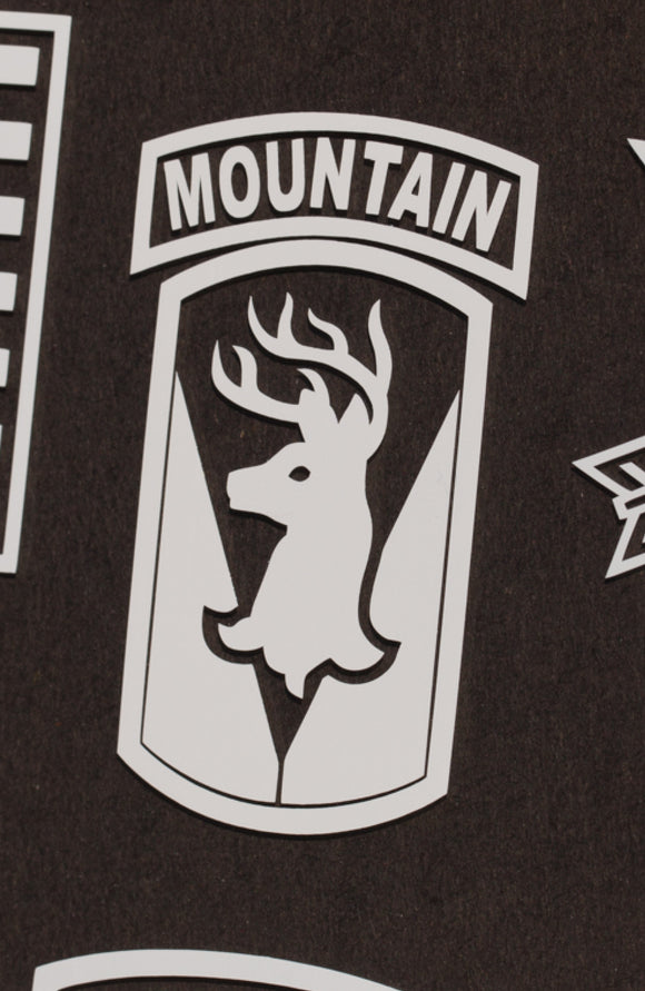 86th IBCT Mountain vinyl decal