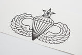 Airborne Basic, Senior or Master vinyl decal