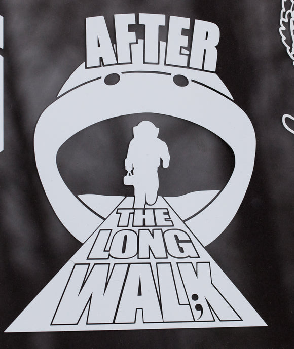 After The Long Walk Vinyl Decal - Official