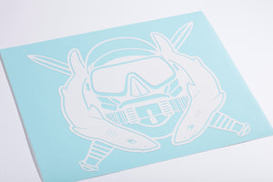 Special Operations Diver Vinyl Decal