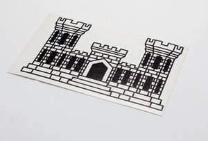Engineer Castle Vinyl Decal