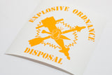 EOD Junk in the Sun Alt Vinyl Decal