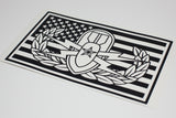 EOD Basic Senior or Master in US Flag Vinyl Decal