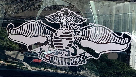 Fleet Marine Force Vinyl Decal