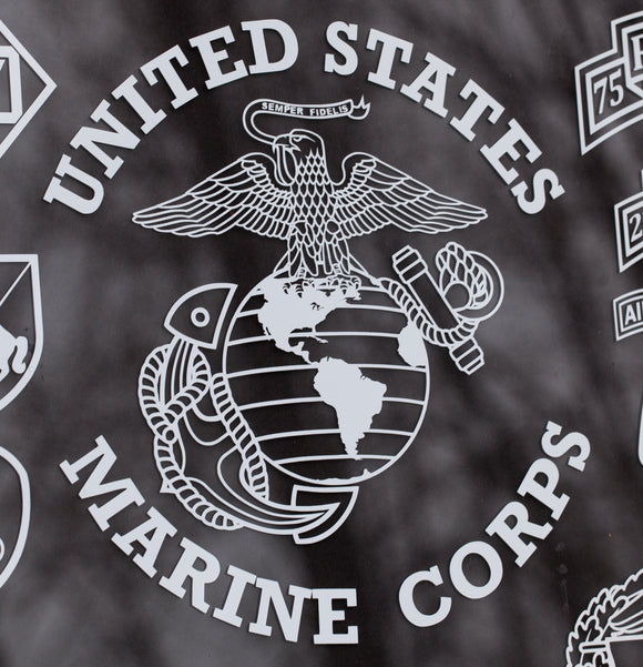 Marines Eagle Globe and Anchor Vinyl Decal