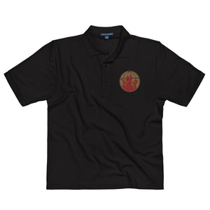 504th Airborne Infantry Men's Premium Polo