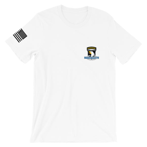 Combat Infantry Badge (CIB) and 101st Airborne patch T-Shirt