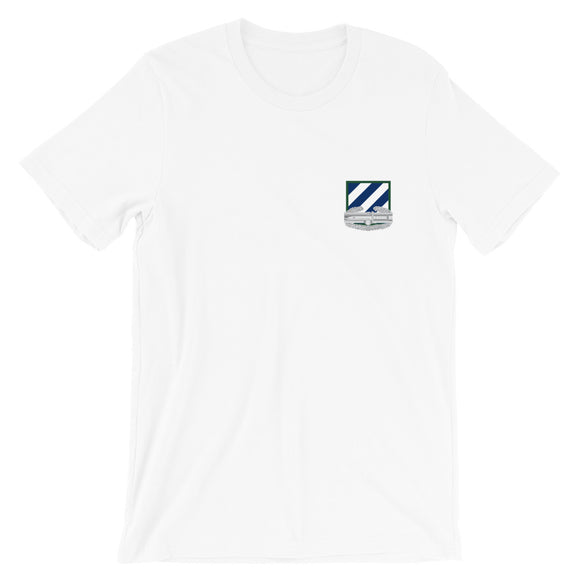 3rd Infantry patch and Combat Action Badge (CAB) Short-Sleeve Unisex T-Shirt