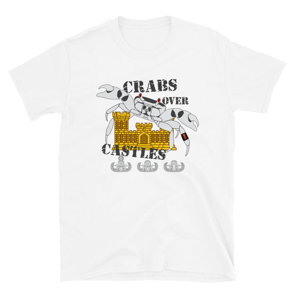 EOD Crabs Over Castles Short-Sleeve Unisex T-Shirt