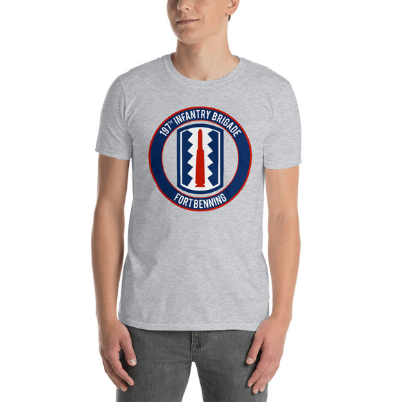 197th Infantry Fort Benning Short-Sleeve Unisex T-Shirt