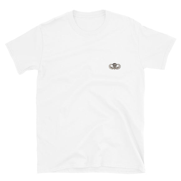 Airborne Parachutist Photo Short-Sleeve Unisex T-Shirt