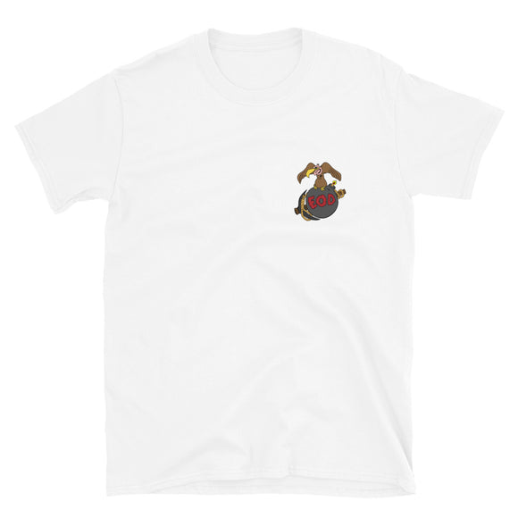 Marine EOD Buzzard Bomb and Pick Short-Sleeve Unisex T-Shirt
