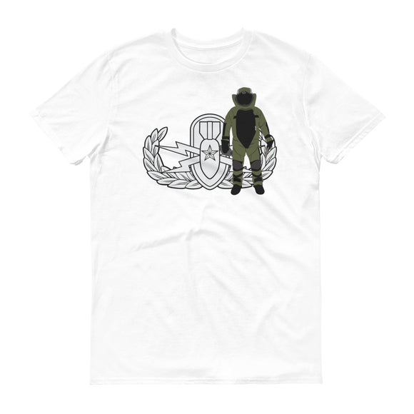 EOD Senior badge and Bomb Suit T-Shirt