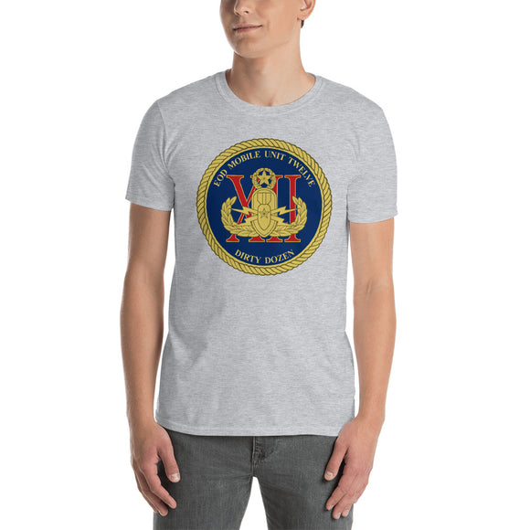 Navy Explosive Ordnance Disposal (EOD) Mobile Unit 12 Short-Sleeve Unisex T-Shirt
