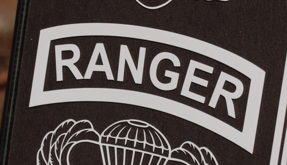 Ranger tab vinyl decal