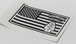 Special Forces Flag Vinyl Decal