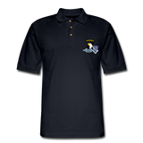 506th BN 101st Airborne CIB Men's Pique Polo Shirt - midnight navy