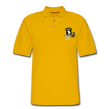 502ND BN 101ST AIRBORNE CIB AIRBORNE Master Men's Pique Polo Shirt - Yellow