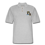 502ND BN 101ST AIRBORNE CIB AIRBORNE Master Men's Pique Polo Shirt - heather gray