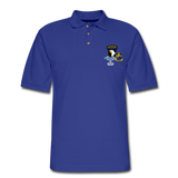 502ND BN 101ST AIRBORNE CIB AIRBORNE Master Men's Pique Polo Shirt - royal blue