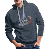 EOD Master RWB Men's Premium Hoodie - heather denim