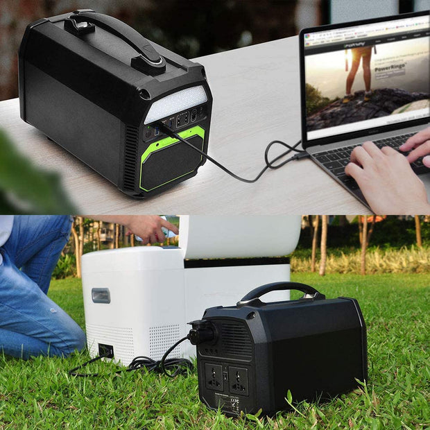 462Wh/500W Portable Solar Generator (New Arrival 2020)