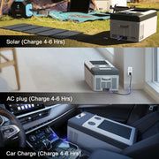 ACOPOWER P15 DC Compressor Car Fridge Cooler (no Battery)