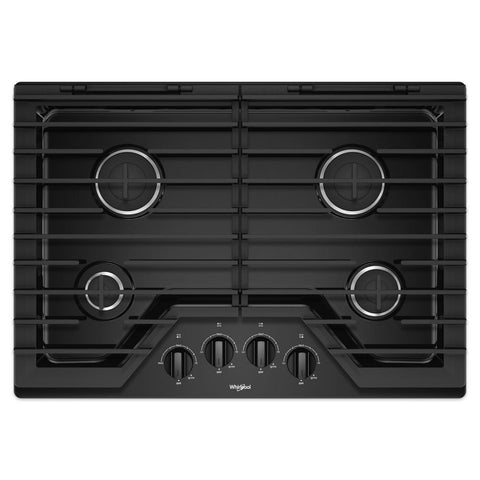 30 in. Gas Cooktop with 4 Burners - WHIRLPOOL (WCG55US0)