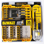 FlexTorq® IMPACT READY® Screwdriving Bit Sets with ToughCase®+ System (DWA2NGFT35IR)