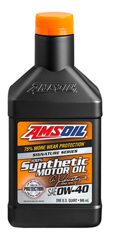 Signature Series 0W-40 Synthetic Motor Oil 32oz. / 12 UNIDADES
