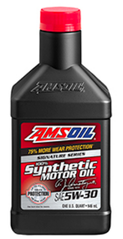 Signature 5W-30 Synthetic Motor Oil 32oz. / 12 UNIDADES