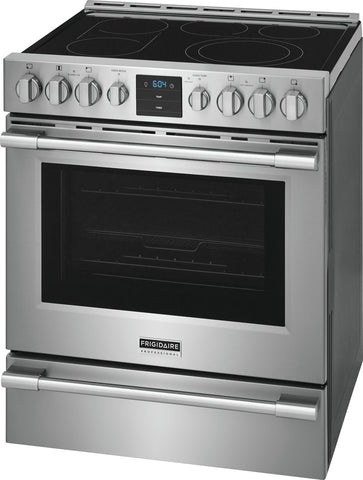 30'' Front Control Electric Range with Air Fry - FRIGIDAIRE PROFESSIONAL (PCFE3078AF)