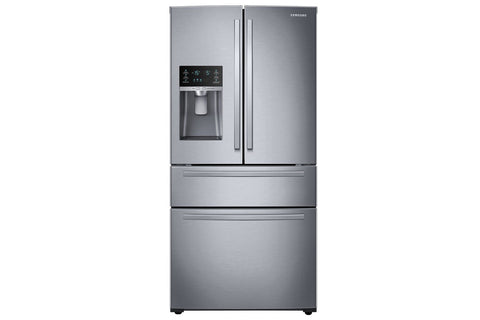 25 CU. FT. LARGE CAPACITY FRENCH DOOR REFRIGERATOR - SAMSUNG (RF25HMIDBSR)