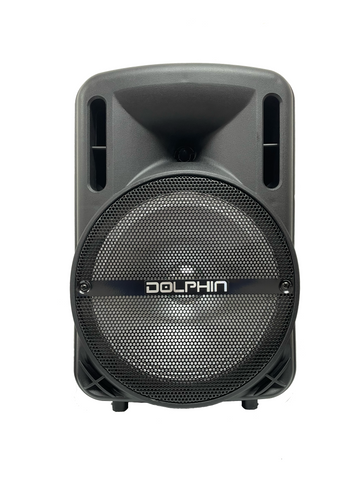 RECHARGEABLE PARTY SPEAKER WITH LIGHT - DOLPHIN (SP-10RBT)