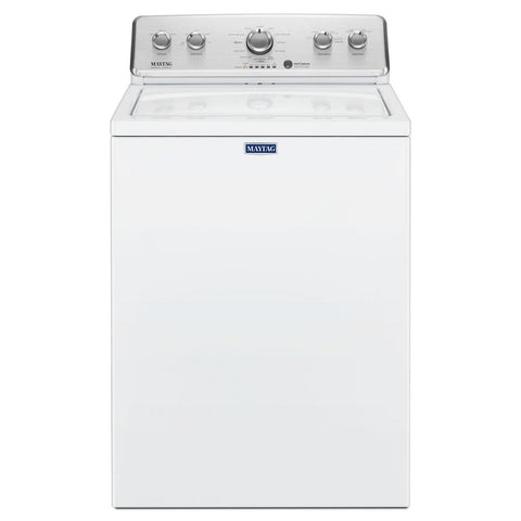 3.8 cu. ft. High-Efficiency White Top Load Washer - MAYTAG (MVWC465HW)