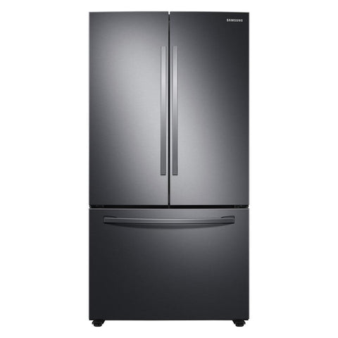28 CU. FT. FRENCH DOOR REFRIGERATOR BLACK STAINLESS - SAMSUNG (RF28T5001SG)