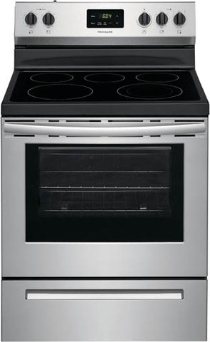 "30"" Freestanding Electric Range - FRIGIDAIRE (FCRE3052AS)"
