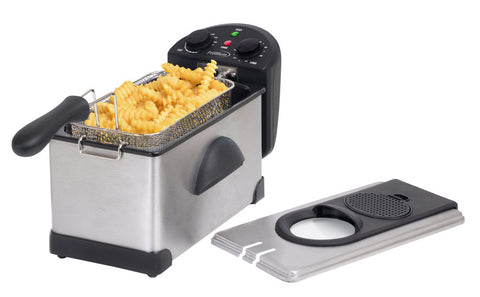 PREMIUM DEEP FRIER 3L S.S. WITH TIMER