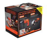Combo de Taladro Martillo y Esmeriladora (Grinder)-Black and Decker (HG7255-B3)