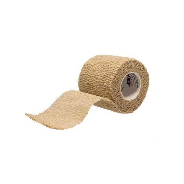 "Dukal - Latex-Free Tan Cohesive Bandages, 1"" x 5yds,"