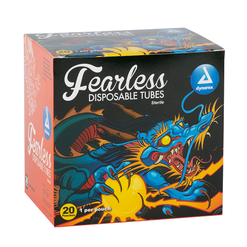 Fearless Tattoo Disposable Tubes - Round, 25mm
