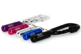GBM Med Secure Pill Keychain with Locking Carabiner