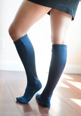 XPANDASOX Cable Knee High Socks