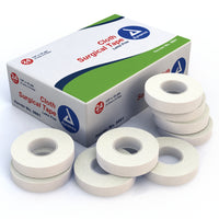 "Dynarex - Cloth Surgical Tape 1/2"" x 10 yds"